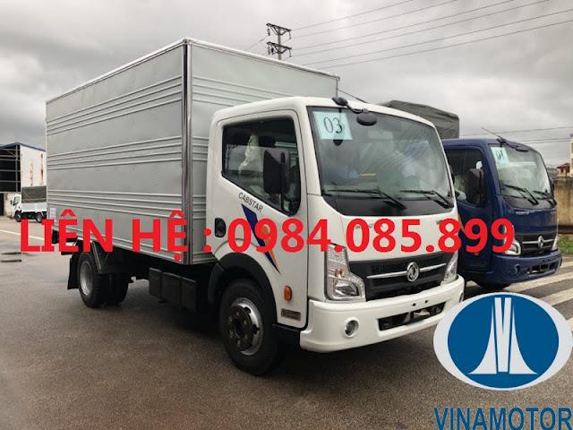 Giá xe Cabstar Đồng Vàng NS200 thùng kín