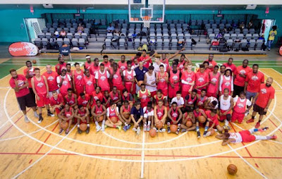 The first day of the Digicel NBA Jump Start Elite Camp was awesome