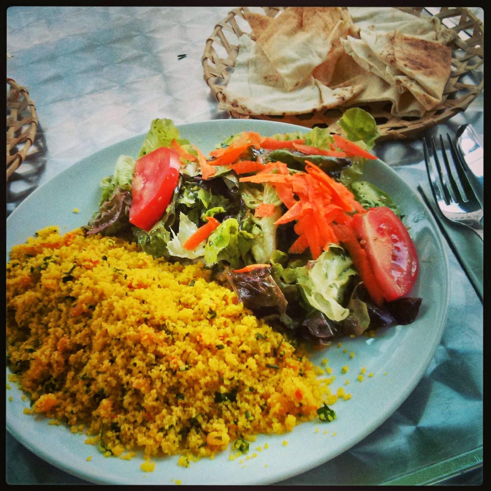 lecker couscous salat