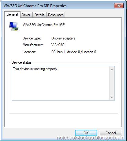 driver de video via s3g unichrome pro igp