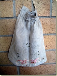 Embroidered vintage bag