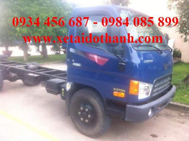 Giá xe HD120s nâng tải 8 tấn