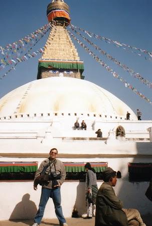 Imagini Nepal: stupa Bouddha