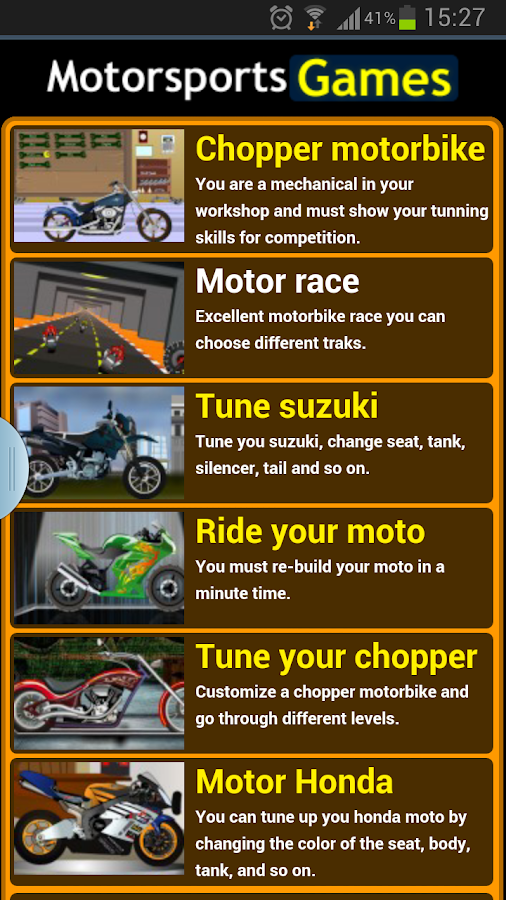 Motorsports Games - screenshot