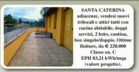 Bergamo attici e trilocali vendita adiacenze Finardi