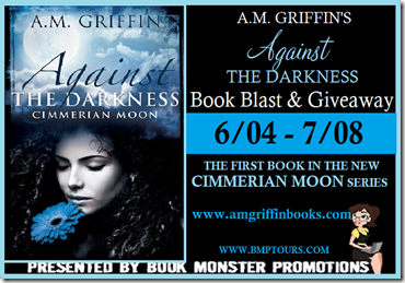 TOUR BUTTON - AMGriffin-AgainstTheDarkness-BookBlast
