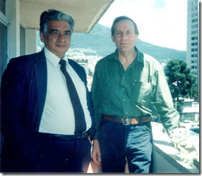 Petronio Jaramillo A (left) in 1996