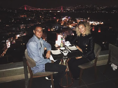 Dinner with a view  Rose Bertram