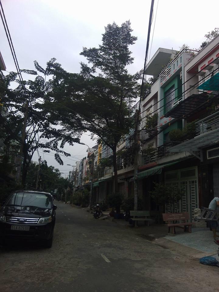 Bán nhà phố Mặt Tiền Quận Tân Phú 001