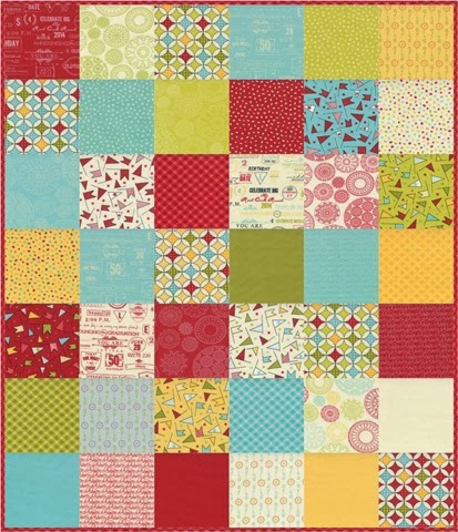 wishes fabric by Sweetwater (image via The Fabric Mill)