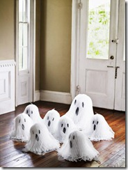 Crepe Paper Ghosts