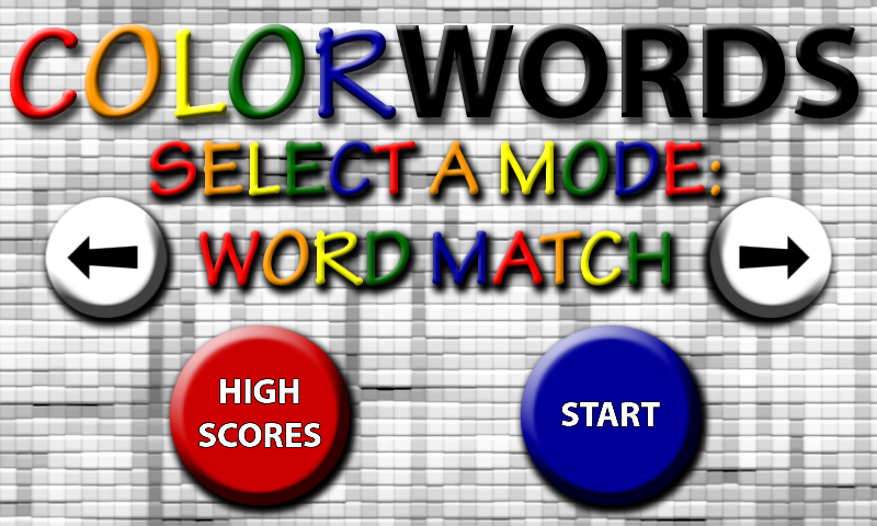 Color Words- screenshot