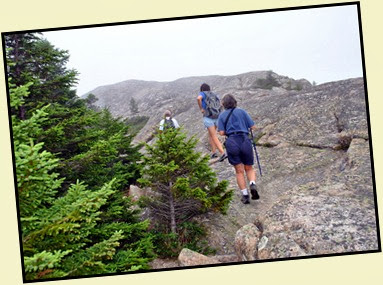 02m- Pemetic Mtn Hike - Closing in on the Summit