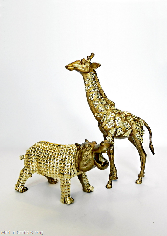 Gold Plastic Animals