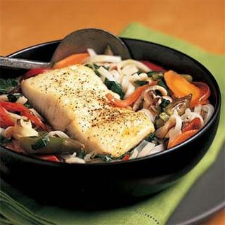 Thai Fish-and-Noodle Soup.