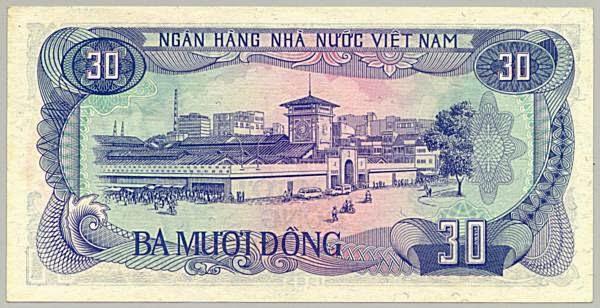 Tờ 30 Đồng Việt Nam Năm 1985