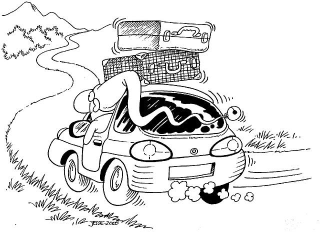 Dibujo Para Colorear Viajar: VIAJAR DIBUJOS PARA COLOREAR