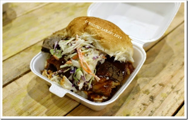 Good Food and Wine Show 2014 - Bbq Joint Beef Brisket Roll© BUSOG! SARAP! 2014