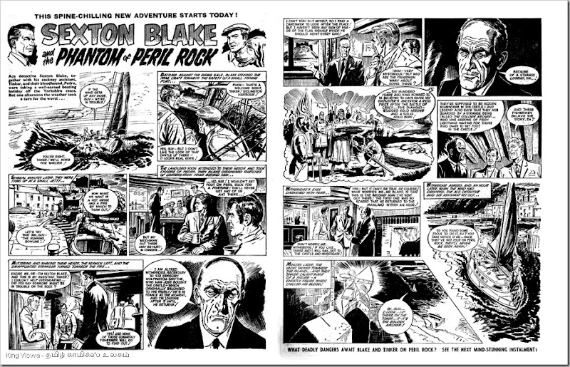 Valiant Dated 25051968 Episode 1 Phantom of the Peril Rock Thanga Villali  Page 01