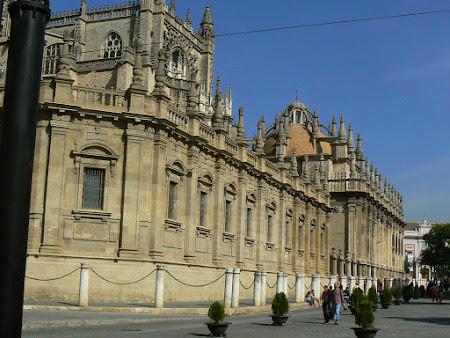 Spania catolica: catedrala Sevilla