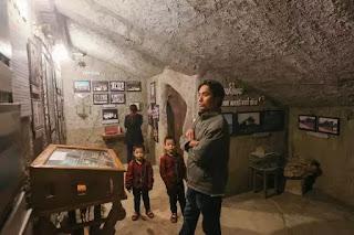 Nhà thờ Mằng Lăng nơi lưu giữ cuốn sách quốc ngữ đầu tiên của nước Việt Nam của cha Alexandre de Rhodes