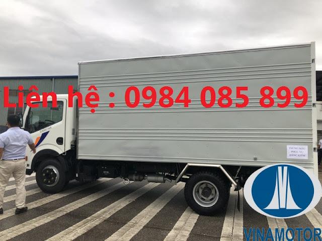 xe tải ns350 cabstar 3.5 tấn thùng kín