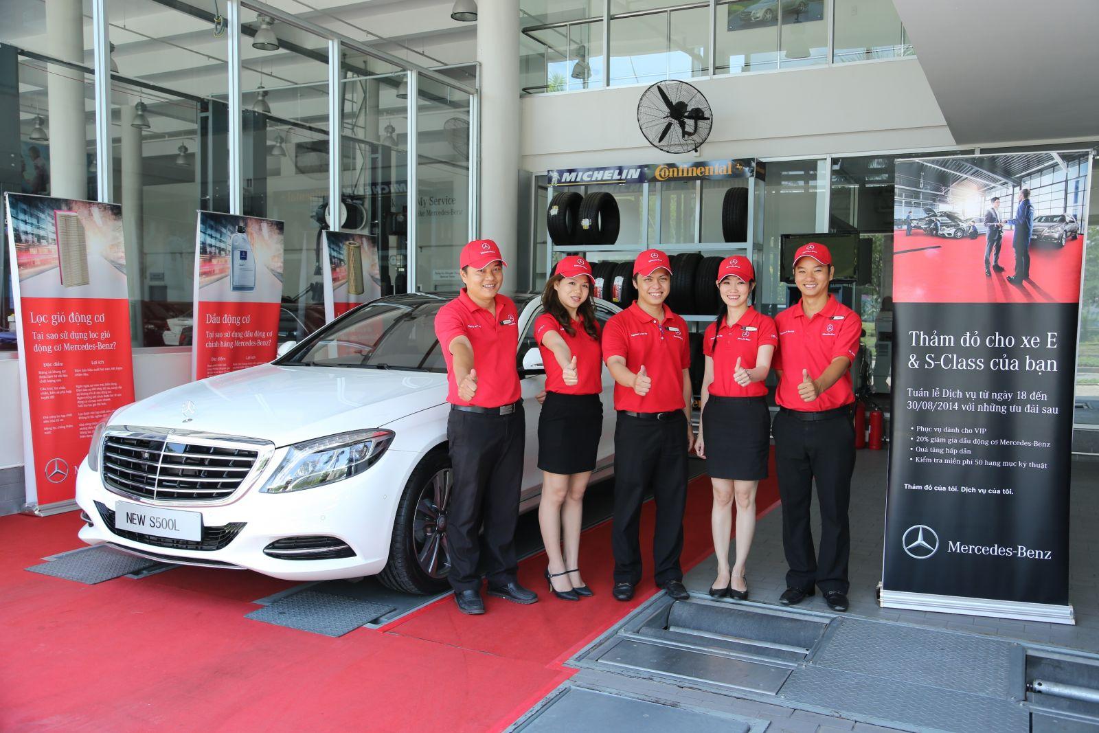 Đại Lý Chính Hãng Mercedes Benz Việt Nam 010