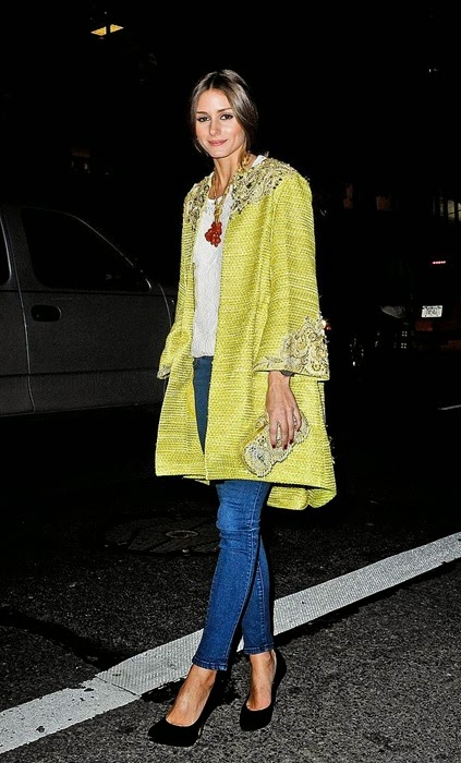 statement coat olivia palermo