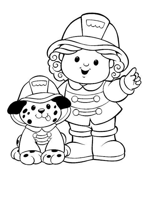 Colorear Dibujos De Little People