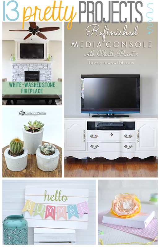 13 Pretty Projects at GingerSnapCrafts.com #diy #homeprojects #linkparty #features_thumb[5]