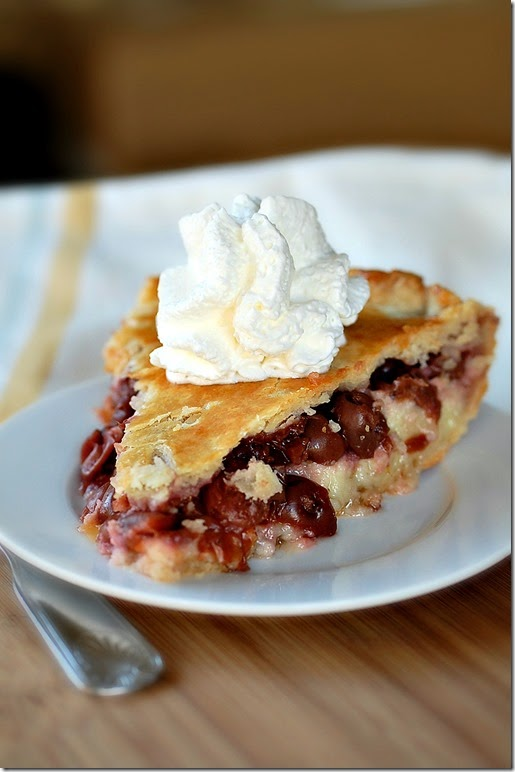 Cherry Cheesecake Pie6