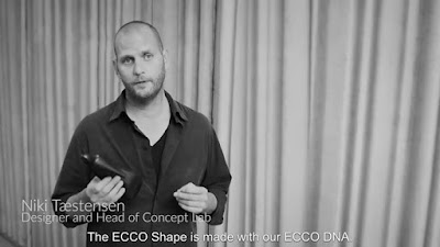 How does our designer see ECCO SHAPE Go behind the scenes to