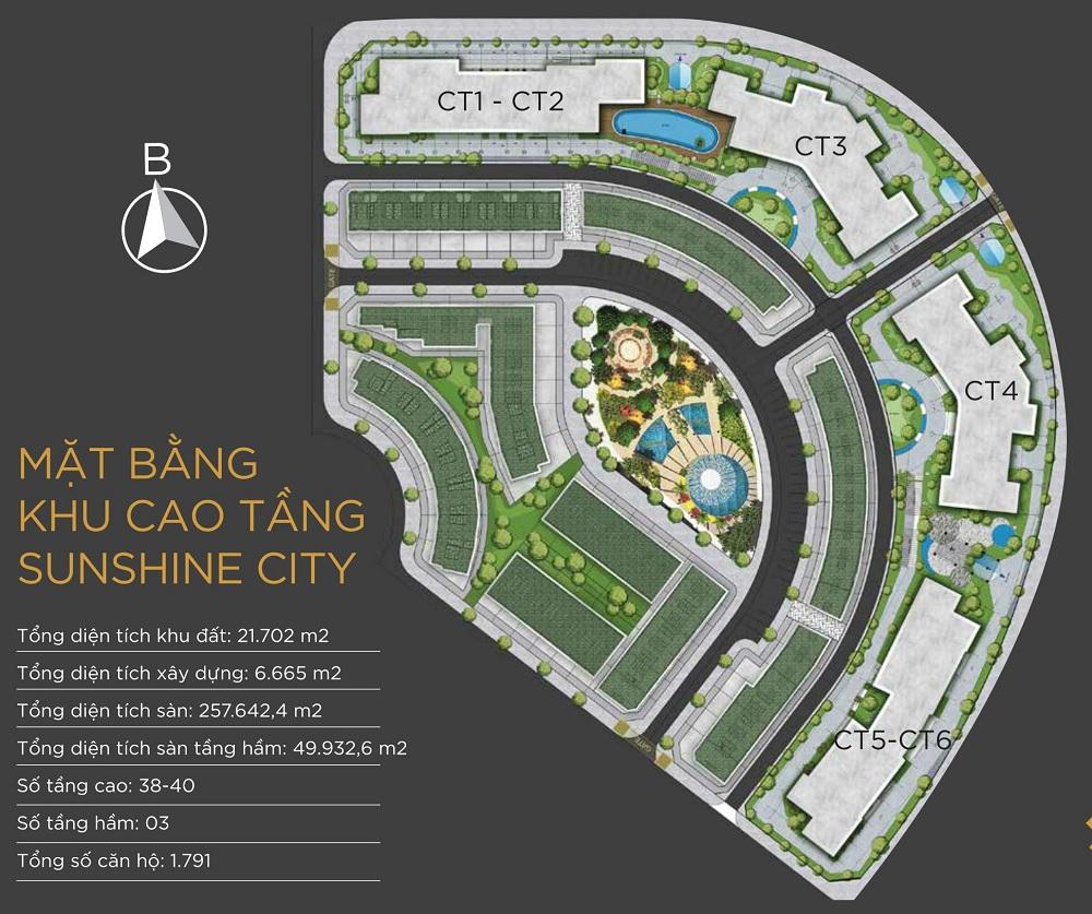 Mặt Bằng Chung Cư Sunshine City