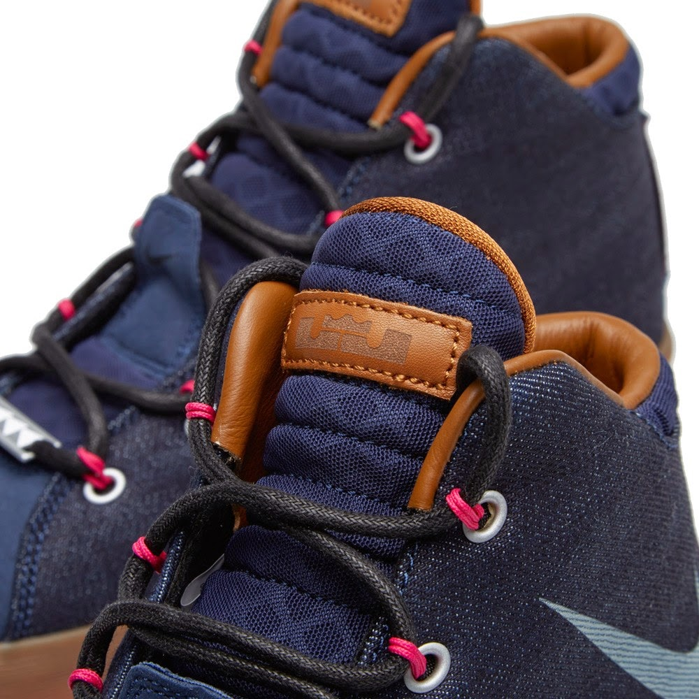 30947ac5ae5 Nike Sportswear8217s LeBron 12 NSW 8220Denim8221 Hits Stores This Friday ...