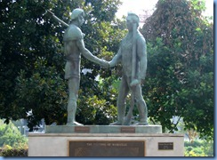 9462 Nashville, Tennessee - Discover Nashville Tour - The Founding of Nashville - James Robertson & John Donelson statue