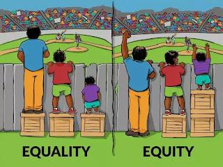 Khác biệt giữa công bằng và bình đẳng