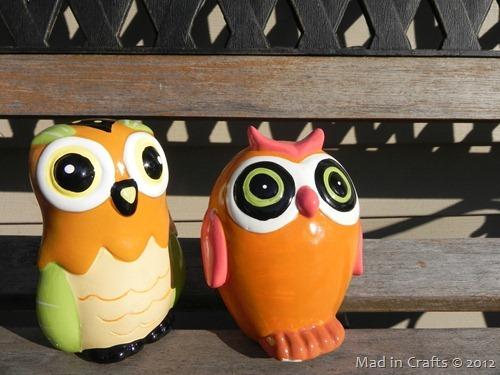 dollar store owls