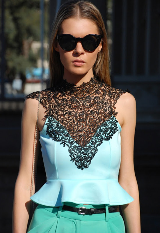 Trend Street Style 2012 Dasha Gold Mint