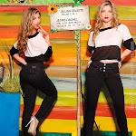 Angelica Jaramillo y Sofia Jaramillo Modelando D'Axxys Jeans Foto 21