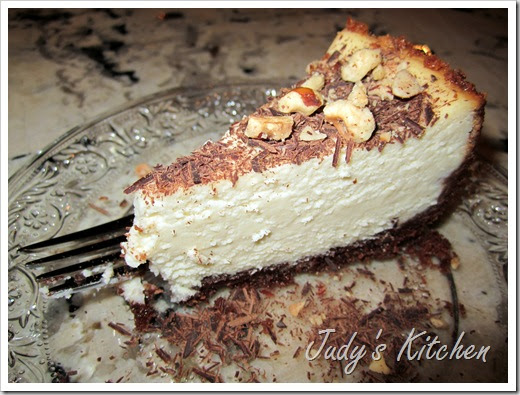 Judy's Kitchen: NUTELLA MASCARPONE CHEESECAKE WITH ...