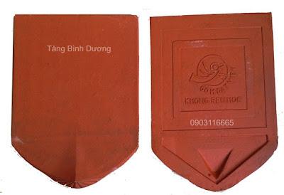 Ngói mũi hài cổ Gốm Đất Việt
