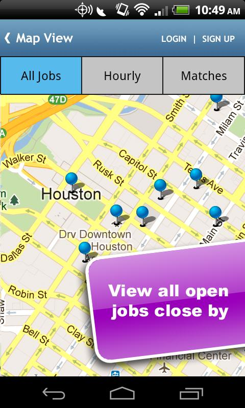 Houston Jobs - screenshot
