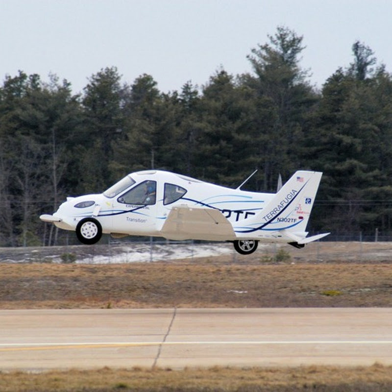 Finally! Flying Cars to Debut at New York International Auto Show