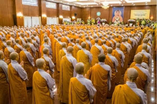 500 tăng ni, Phật tử làm lễ cầu siêu cho ông Trần Đại Quang tại Việt Nam Quốc Tự
