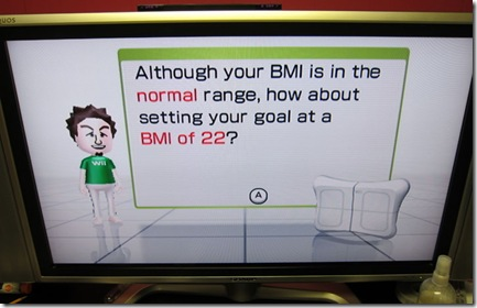 wii fit bmi uncool dad