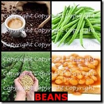BEANS- 4 Pics 1 Word Answers 3 Letters