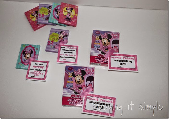 Easy No Candy Minnie Mouse Valentine with Printable (8)
