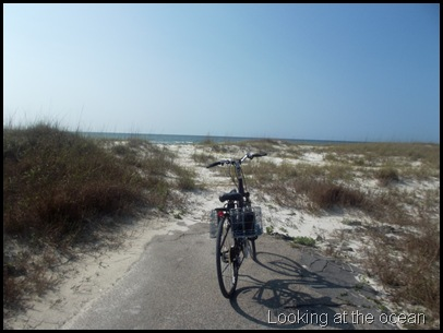 Tuesday biking to St. George Point 262