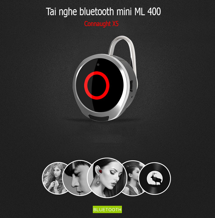 Tai nghe connaught ML400