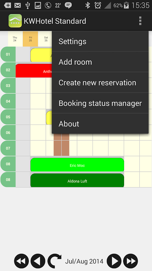 KWHotel Standard Mobile- screenshot